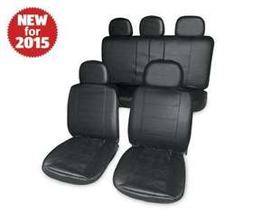 Leather Look Car Seat Covers only £19.99 at Aldi