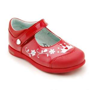Princess Lana, Red Patent Girls Riptape Shoes (was £40) now £20 delivered Startrite Shoes