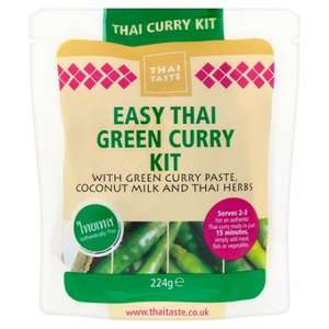 Thai Taste Green Curry Meal Kit £1.50 @ Tesco & Instore