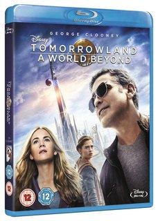 Tomorrowland on DVD 500 Reward Points Blu-Ray 700 @ DisneyMovieRewards