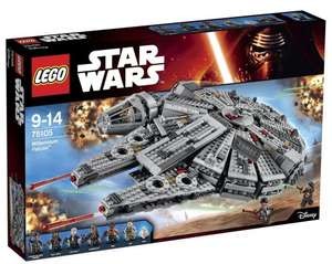 Lego Force Awakens Millennium Falcon now £97.99 at Amazon