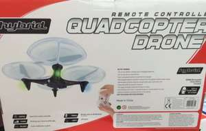 Remote Controlled Quadcopter Drone  £30 at Poundworld