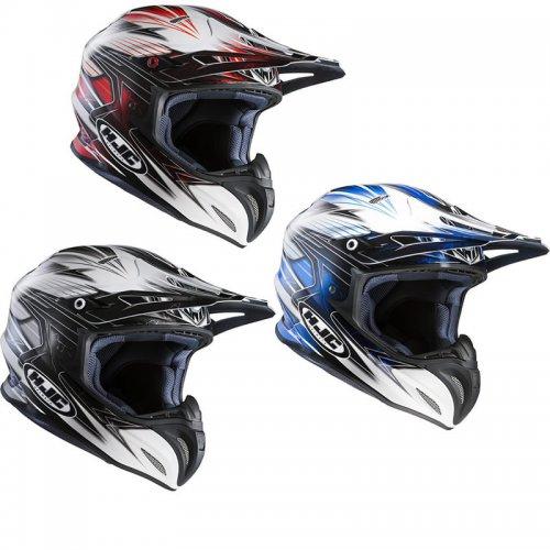 HJC RPHA X Silverbolt Motocross Helmet £99.99 delivered @ Ghost Bikes
