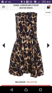 Izabel London skater dress @ Dorothy Perkins £13.50 free del with code