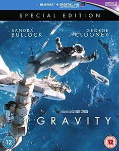 Gravity [Special Edition] [2015] [2 Disc] (Blu-ray+HDUV) £8.00 (Prime) £9.99 (Non-Prime) @ Amazon