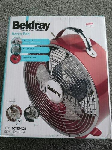 Beldray retro metal fan £6.25 in Wilkos. Was £25.00