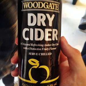 Lidl Woodgate Cider 4x440ml From £1.99 down to £1.49.