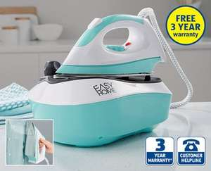 Easy Home Steam Generator Iron, with free 3 year warranty £24.99 @ ALDI