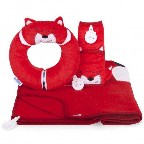 Trunki Snuggle Bundle Felix -  Includes Yondi Travel Pillow, SnooziHedz Blanket Set & Seatbelt pad  - (Was £30) Now £16.99 delivered at Trunki