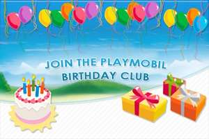 Playmobil Birthday Club
