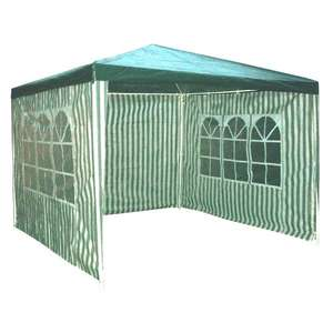 3 sided gazebo £29.99 + £9.99 delivered @ Amazon/ Cyber Checkout aprox. £50 cheaper