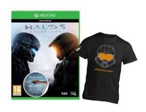 Halo 5 Guardians + T-shirt + 540 Clubcard points  £40 at Tesco