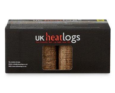 UK Heat Logs - 8 Pack - £2.99 @ Aldi