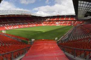 Tour of Manchester United's Old Trafford Stadium for 2 adults just £13.50 (£6.75 each) @ Buyagift with code BUDDY25