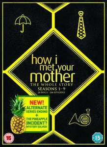 How I Met Your Mother Complete Seasons 1-9 DVD box set £28.49 @ Zavvi (using code)