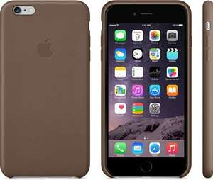 Used iPhone 6 Plus Official Brown Leather Case £8 @ CEX