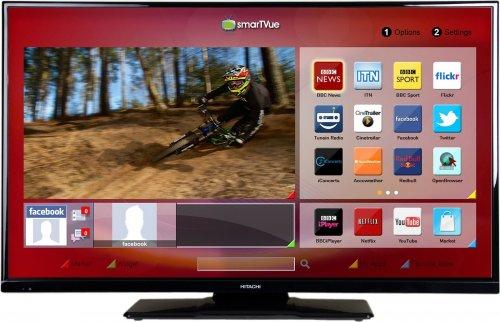 Hitachi 42HYT42U 42 Inch Full HD 1080P Freeview HD Smart LED TV £249.99 @ Argos Ebay