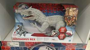 Jurassic World Indominus Rex reduced from £39.97 to £25.00 - Instore at Asda Walmart Swindon