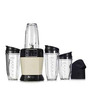 Nutri Ninja 1000 Watt Auto IQ Blender with 4 Assorted Sip & Seal Cups £90.87 Delivered @ QVC (also on 3 easy pays of £27.64 + post)