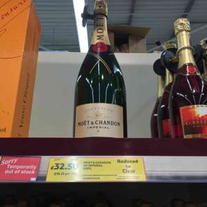 Tesco, Moet & Chandon Magnum reduced to £32.50 from £65
