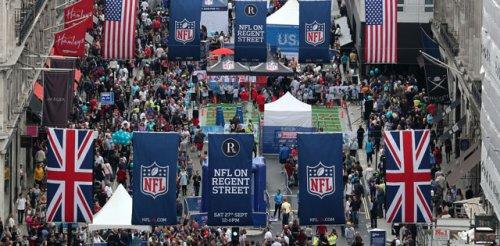 NFL on Regent Street Saturday 24 October