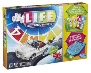 Game of Life Electronic Banking by Hasbro - £8.99 in Home Bargains, £14 delivered on Amazon
