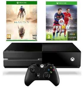 Xbox One Console & FIFA 16 & Halo 5: Guardians £294 Delivered (using code) from xtra-vision