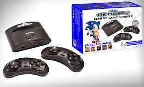 Sega Megadrive With 80 Games £32 with voucher code @ Argos