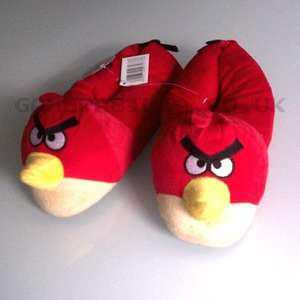 Angry Birds Novelty Red Bird Slippers 99p + £4.99 delivery (£5.98) @ Gamerbilia