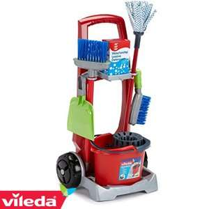 Vileda Junior Cleaning Trolley Set RRP £28.99 NOW £12.99 @ Home Bargains