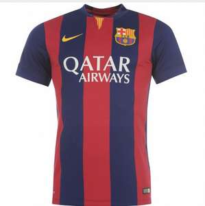 Barcelona home shirt (same as in the picture) down to £15!!! @ Nike Store (Rotherham)