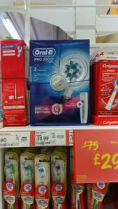Oral B Pro 2500 power toothbrush rrp £75 offer price £29.97 Now £14.99 ASDA instore only