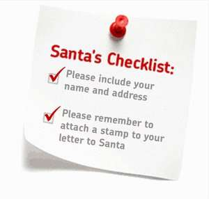 "Royal Mail ""Letter to Santa"" is back 63p (1st class) 54p (2nd class)"