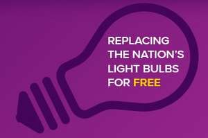 Free LED bulbs for your whole house @ Utility Warehouse