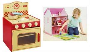 Reductions on Carousel Wooden Toys from £8 (free C&C) @ Tesco direct