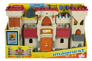 Fisher-Price Imaginext Castle £32 online at Tesco Direct