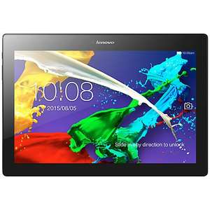 """Lenovo Tab 2 A10 Tablet, Quad-core Processor, Android, 10.1"""", Wi-Fi, 16GB,   Midnight Blue..........Save £30 until 27.10.15 (saving already applied to price) £149.95 @ John Lewis"""