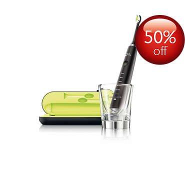 Philips Sonicare DiamondClean Sonic electric toothbrush (Black) £73.13 + Quidco