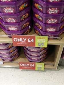 "Quality Street 756g Tin from Waitrose £4 but discount to £3.60 using a ""myWaitrose"" Card"