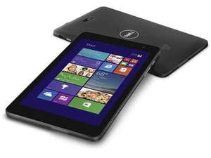 "Dell Venue 8 Pro 3845 Intel Atom Z3735G 1GB 32GB 8"" Windows 8.1 - Black £59.98 @ BT Business"