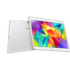 Samsung Galaxy Tab S 10.5 Wifi £296.65 with code (£267 after 10% Quidco) @ Samsung Shop