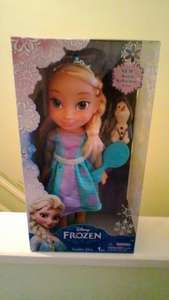 Frozen Elsa Toddler Doll Anna available as well! £12.49 @ Sainsburys