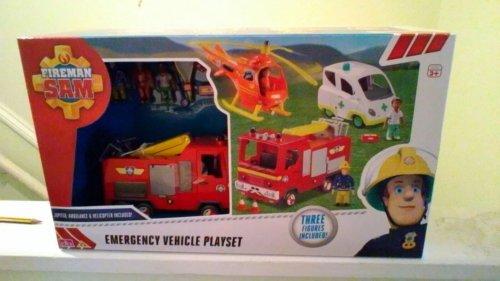 Fireman Sam Emergency Vehicle Playset Sainsburys Toy Sale - £19.99