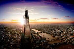 View from The Shard - 1 Adult and 2 Children £29.95 @ Virgin Experiences