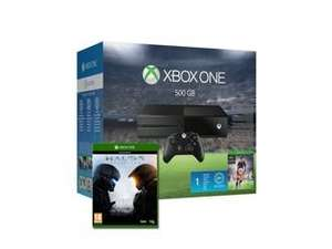 Xbox One 500GB Console (Black) with FIFA 16 & Halo 5 Guardians for Xbox One £300 (£5.95 P&P) @ Rakuten/Simply Games