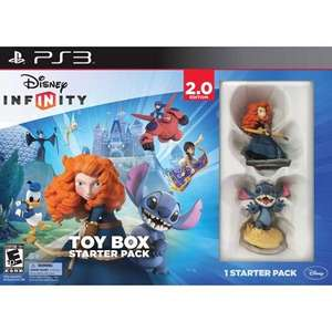 Disney Infinity 2.0 Classics Toy Box Starter Pack PS3 £10 @ Tesco Direct (also Marvel starter pack PS3 for £15)