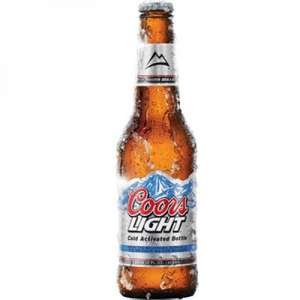 15 x 330ml Coors Light bottles £8 @ Netto