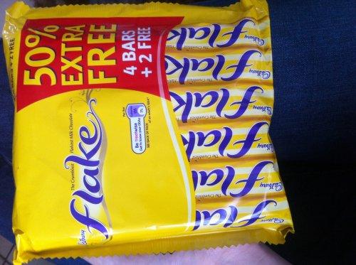 6 pack of Cadburys Flake £1 @ Cadburys Shop