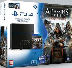 PS4 1TB Assassin's Creed Syndicate Bundle + Watchdogs + Uncharted: The Nathan Drake Collection & PSTV + Thumb grips £329.85 @ Shopto