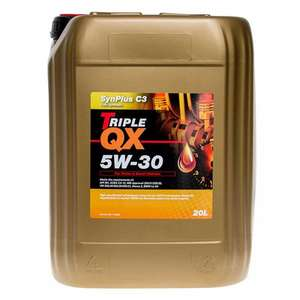 TRIPLE QX Engine Oil (Fully Synthetic 5w30 - 20ltr) £48.59 @ EuroCarParts